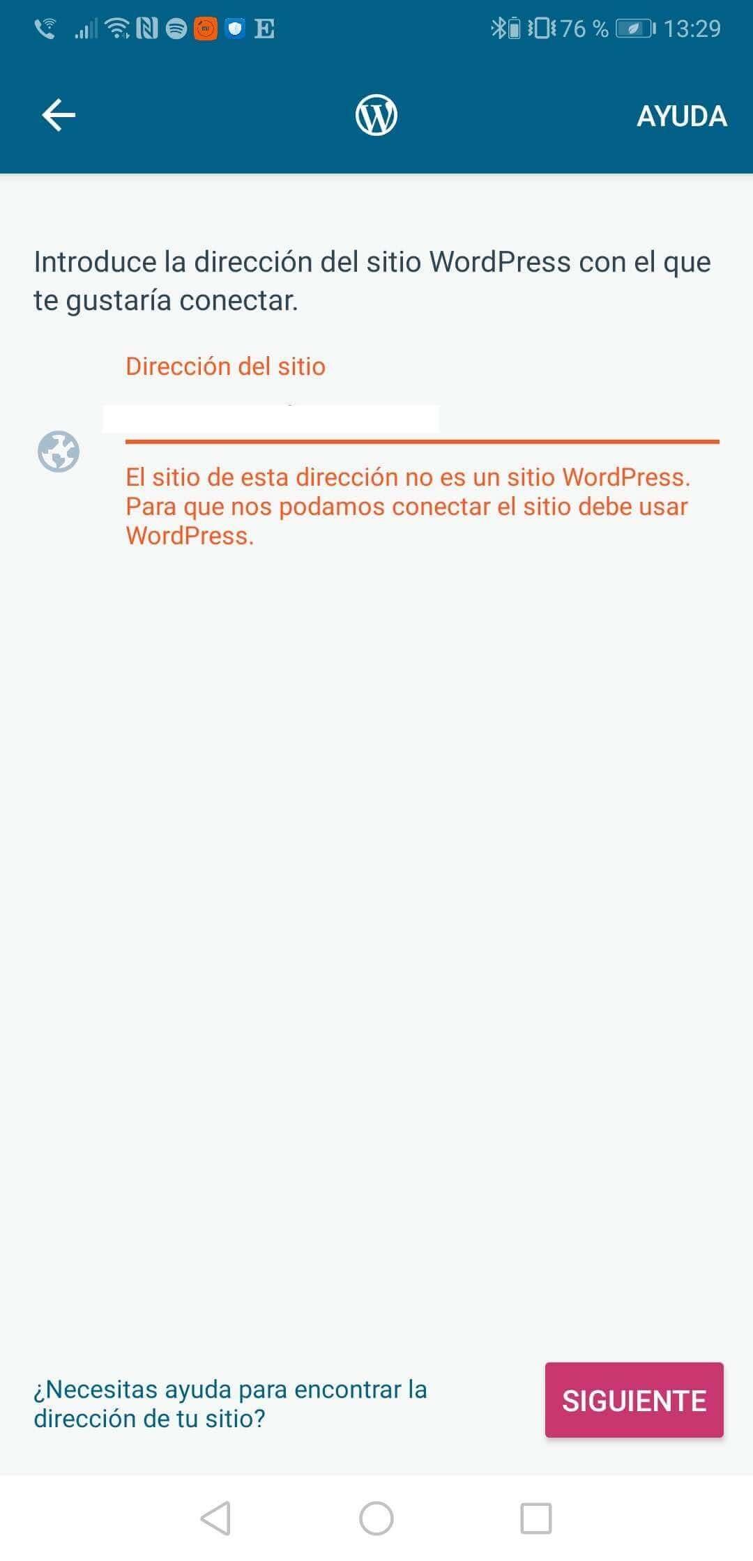 Wordpressアプリでログインできない、アップデートできない