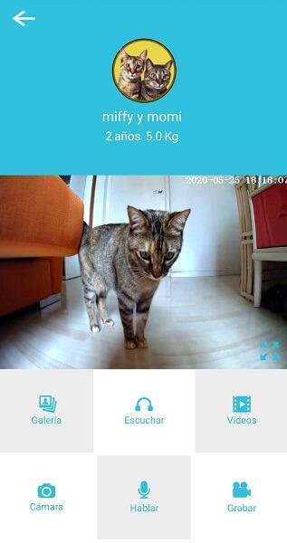 カリカリマシーンSPのアプリ画面