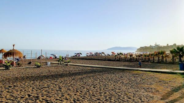 コスタデルソルのビーチ